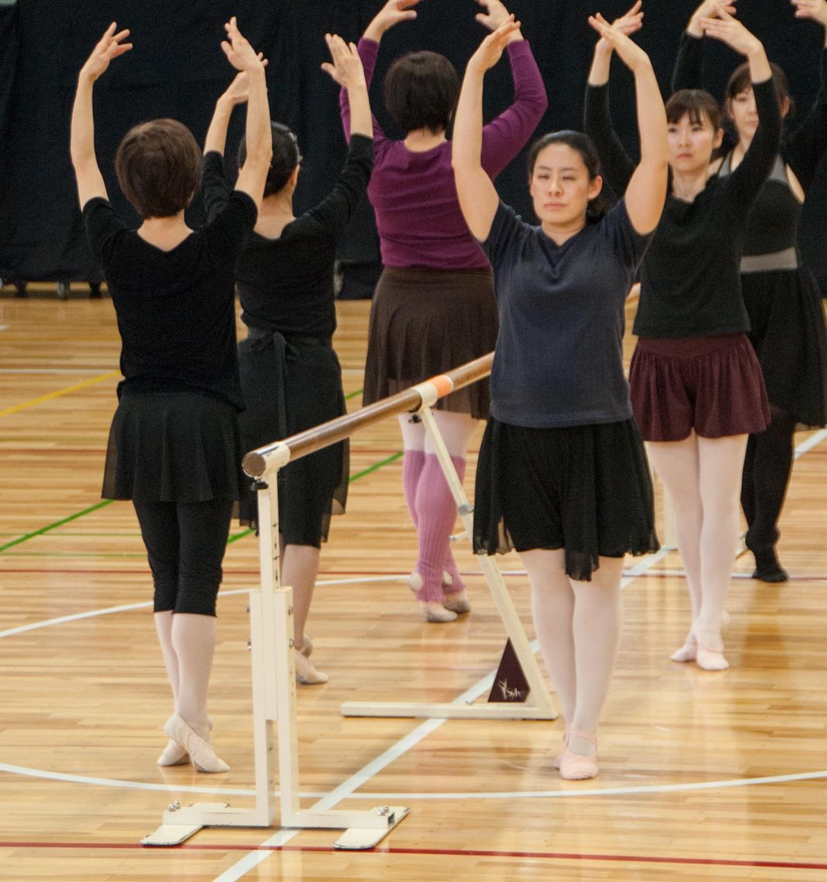 大人から始めるやさしいバレエ体験(3日制)